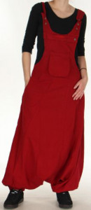 combinaison-sarouel-mixte-ethnique-et-originale-nourine-rouge-p-image-275551-grande