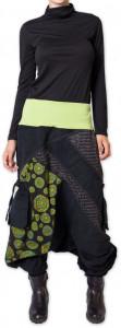 sarouel-en-velours-pour-femme-colore-et-ethnique-sepiks-vert-p-image-276179-grande